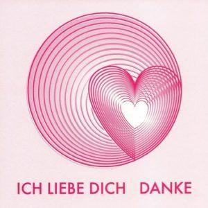 Herz Karte Deutsch